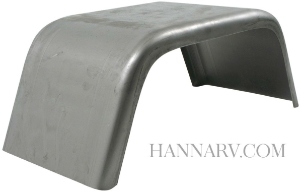 Jeep Style Fender J10821 - 1/2 Inch Radius - 10 Inches Wide x 21 Inches Long x 8 Inches High - Fits